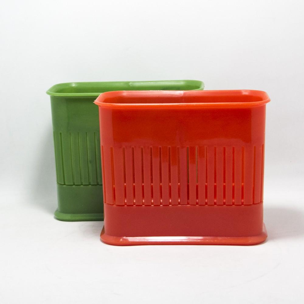 Escurre cubiertos de plastico