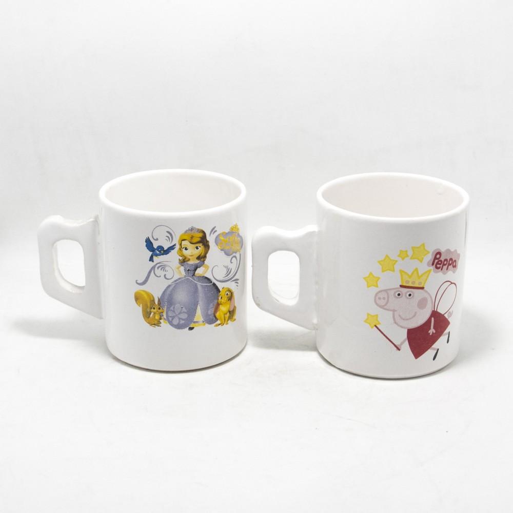Taza ceramica mot.fusia/color 250ml