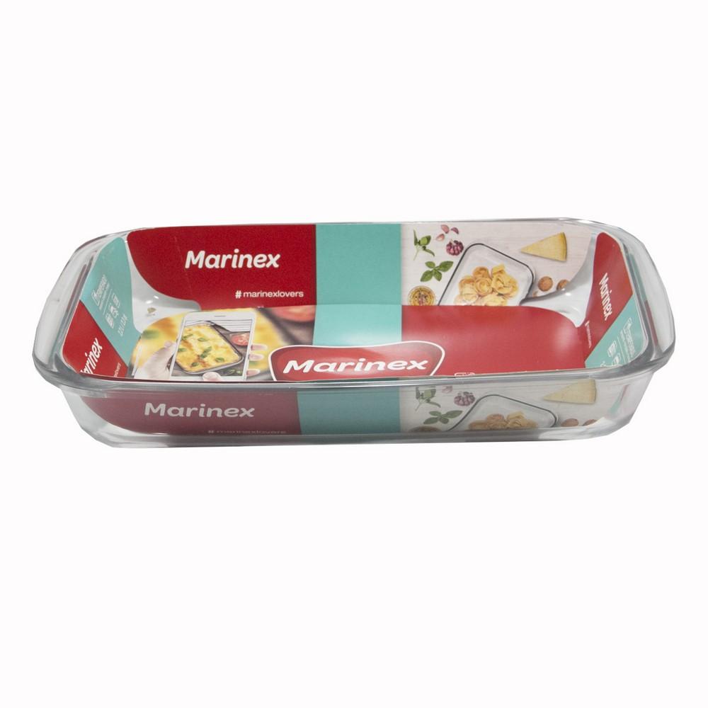 Fuente de vidrio Lasagna Marinex