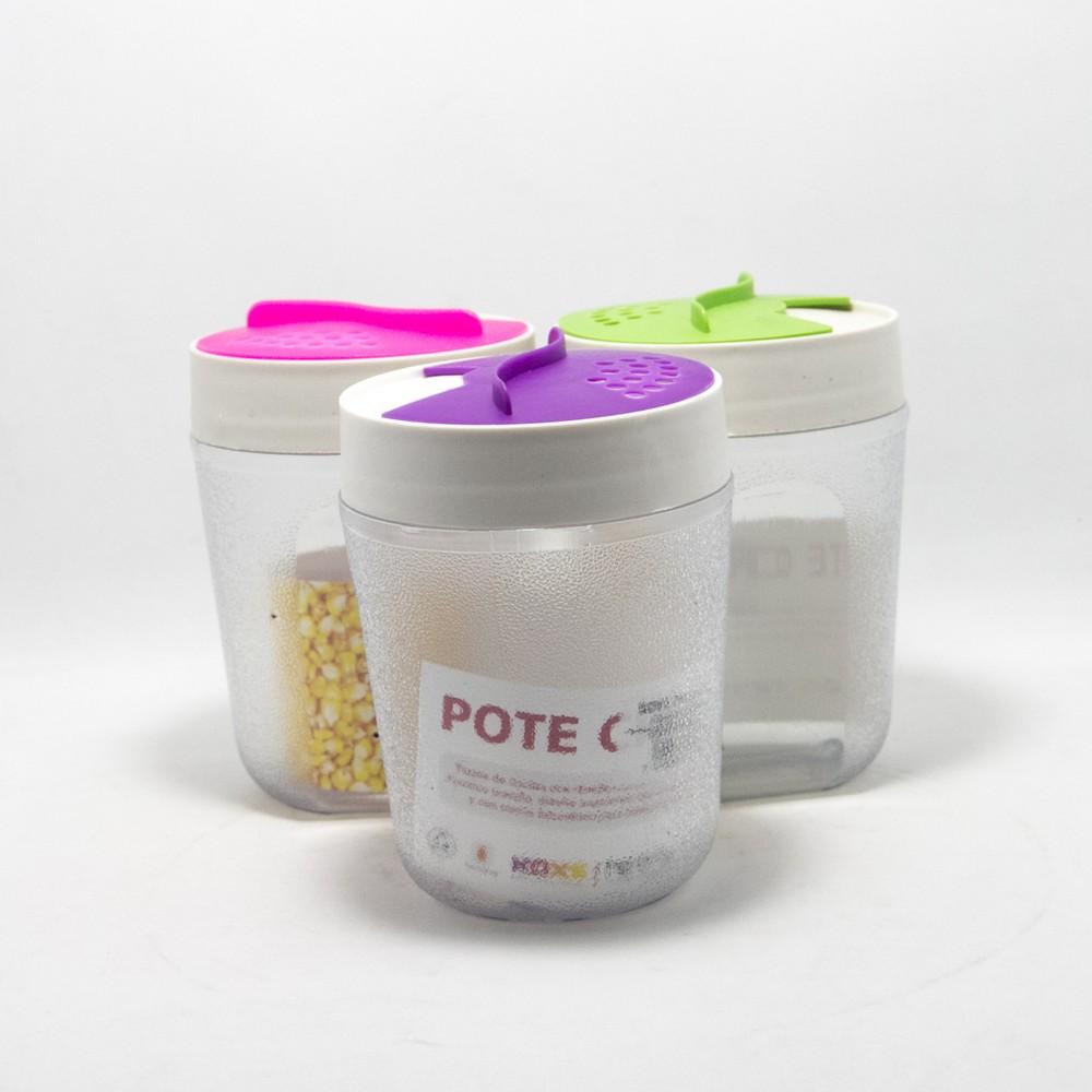 Koxs quesera plastico tapa colores