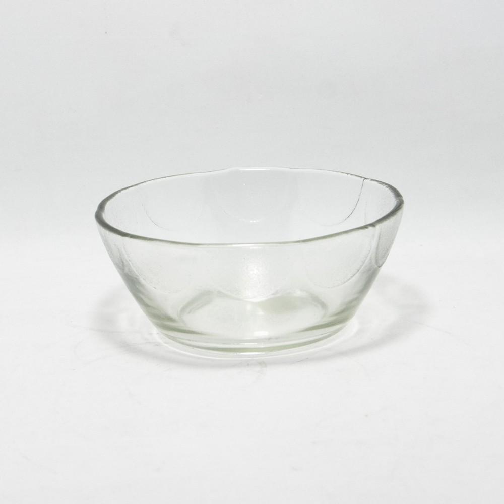 Compotera de vidrio roma 11cm transparente