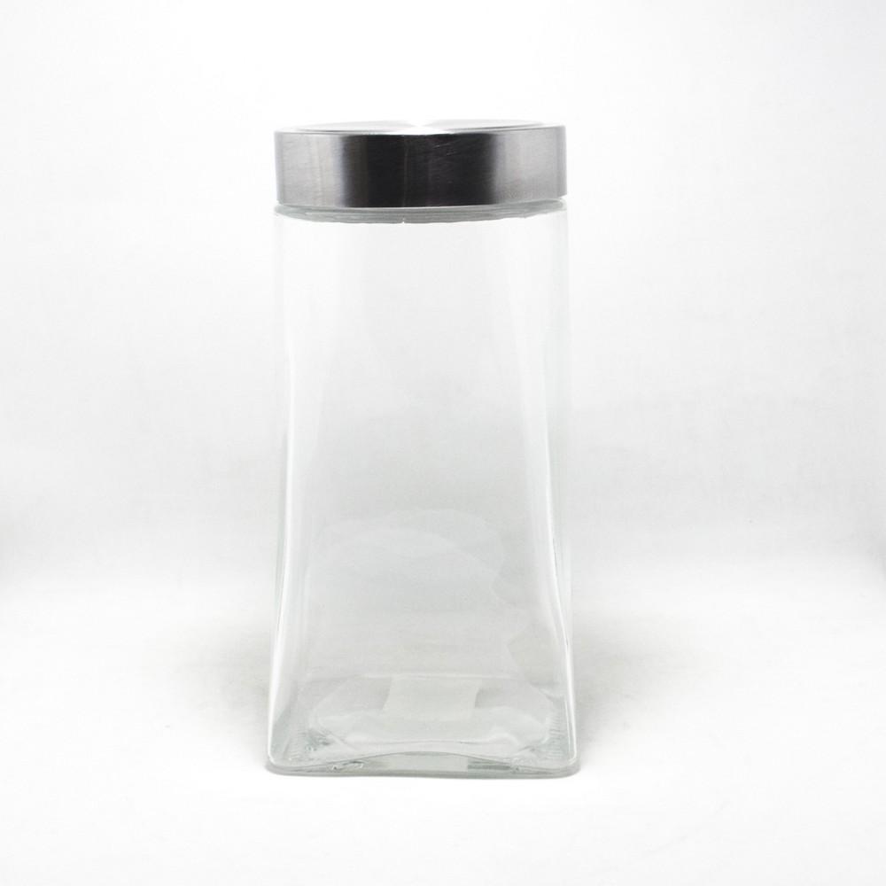 Frasco conico vidrio GDE C/Tapa de metal