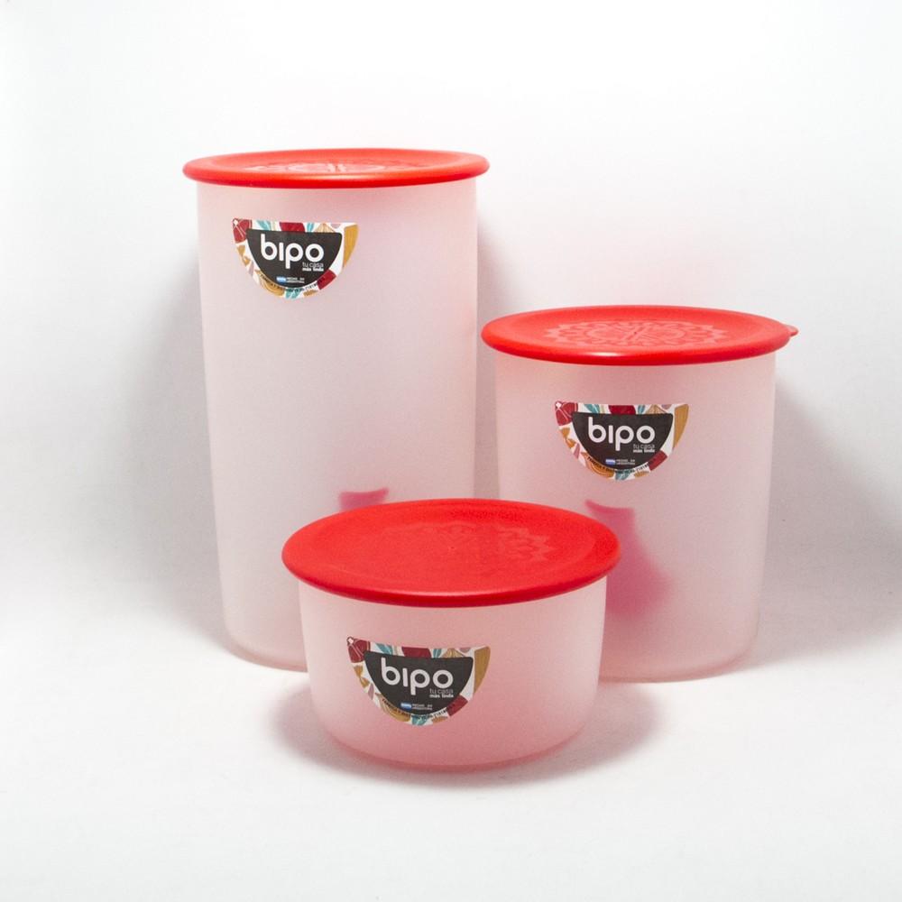 Set tarros x 3 C/ cucharita plastica
