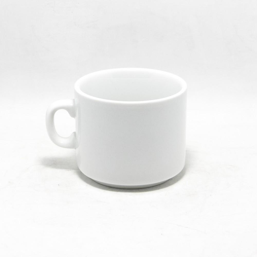 Taza desayuno Loza blanca