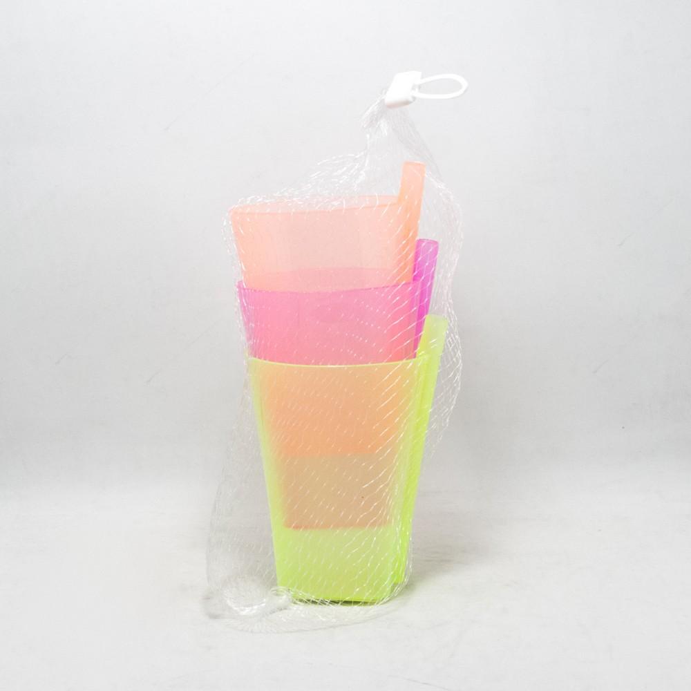Vasos C/Sorbito x3.U Plast E/Red
