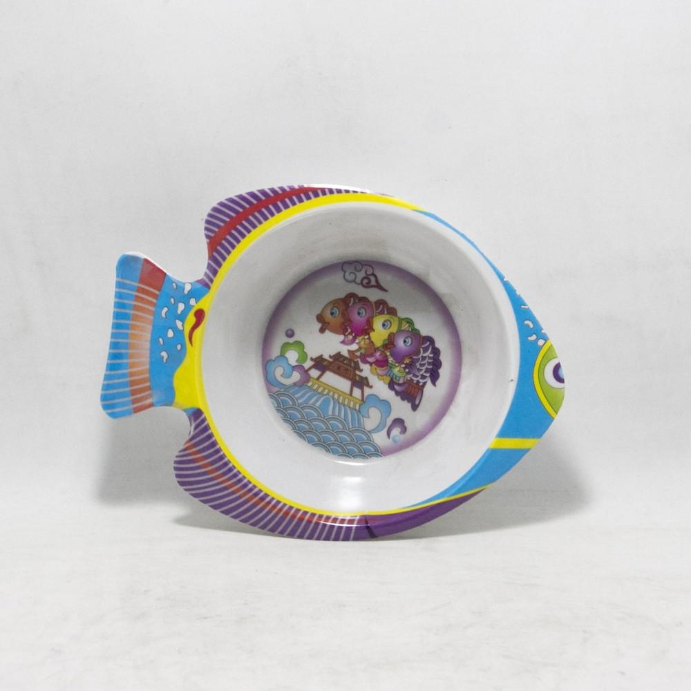 Compotera melamina f/pez estampada