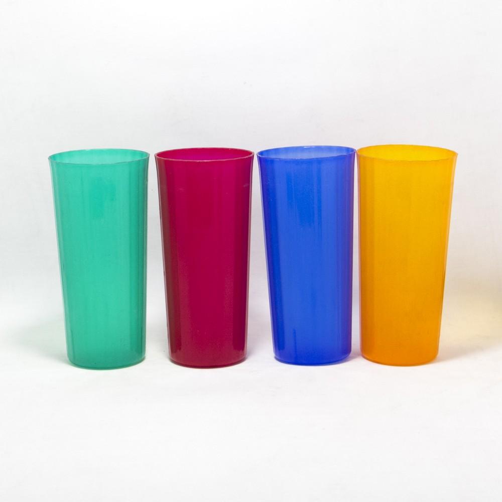 Vaso plastico largo Yuppy
