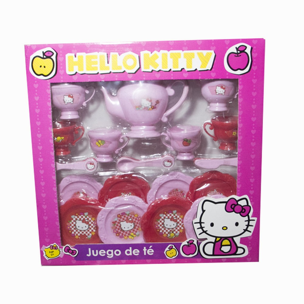 Juegos de te platico Hello Kitty