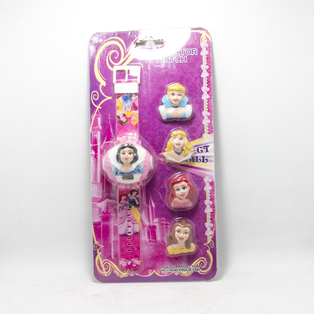 Reloj Digital INF Princesas Intercambiable