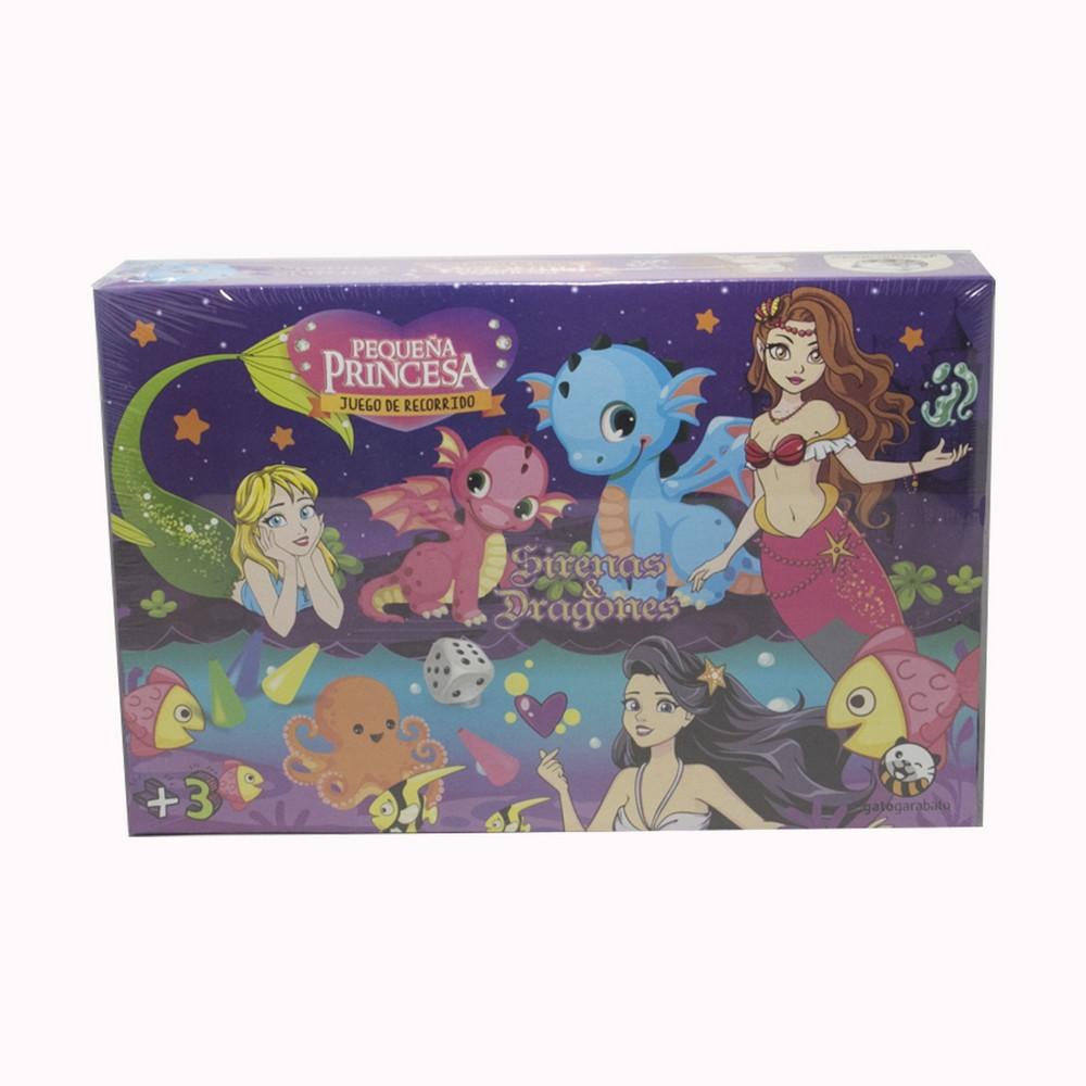 juego Mesa Princesas Sirenas