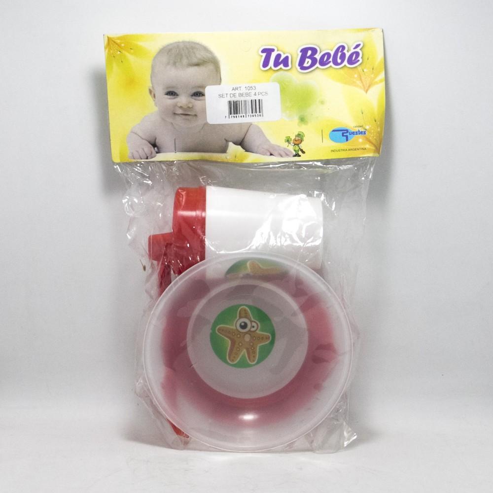 Set bebe 4PCS E/Bolsa