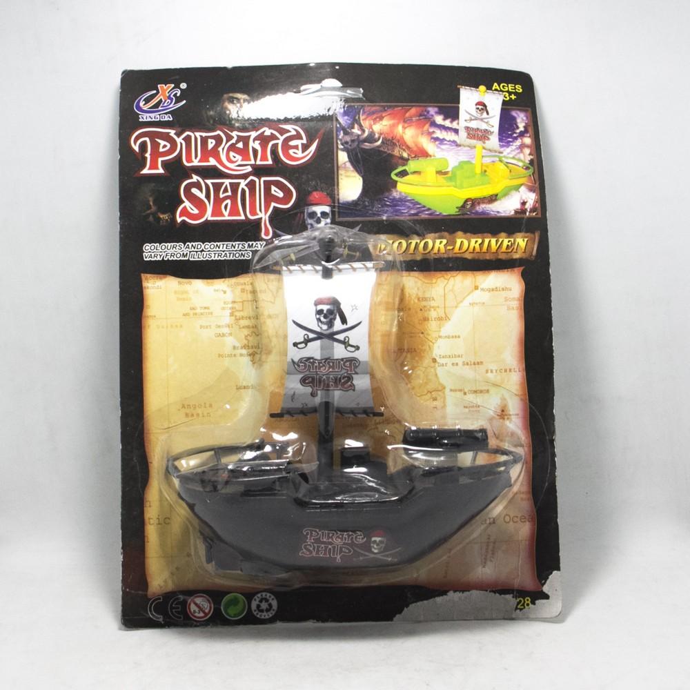 Barco pirata  mediano en blister
