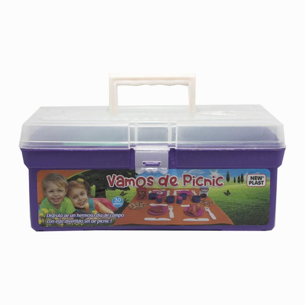 Valijita picnic con accesorios