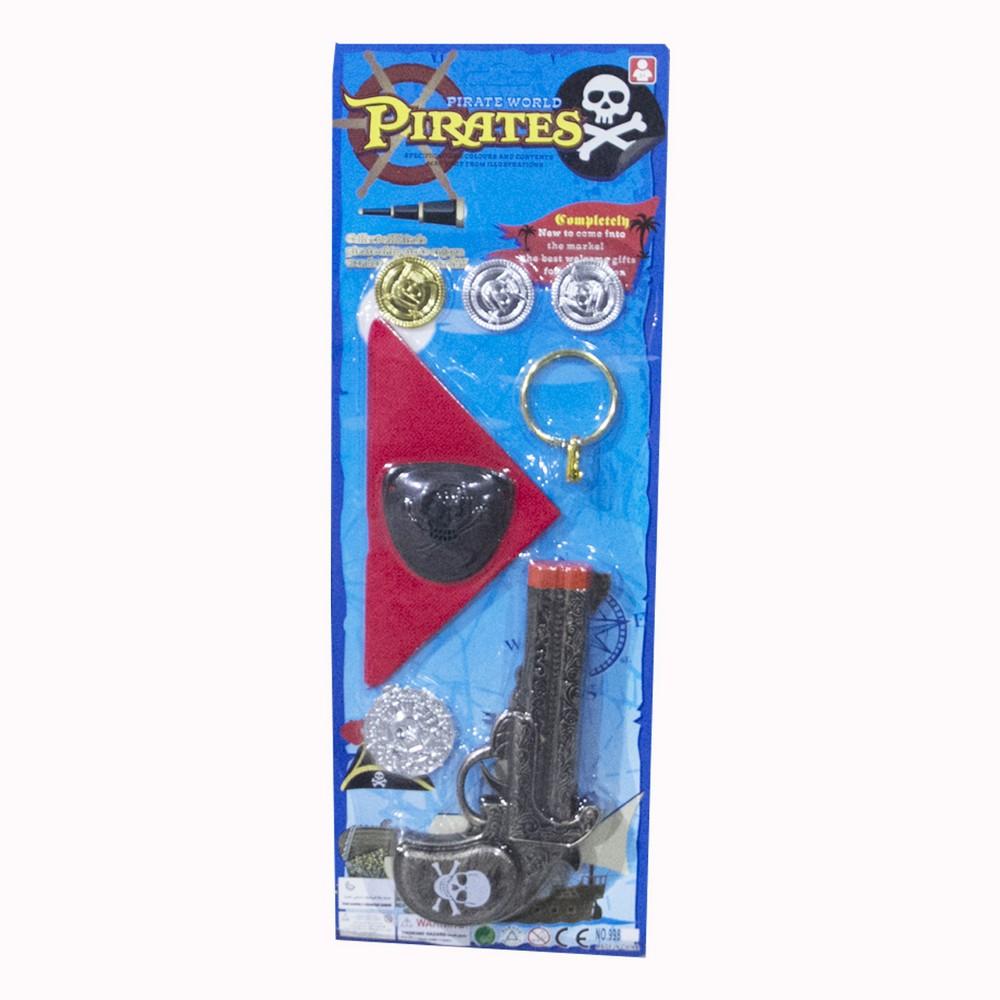 Set pirata 8PCS C/Acces Med Blister