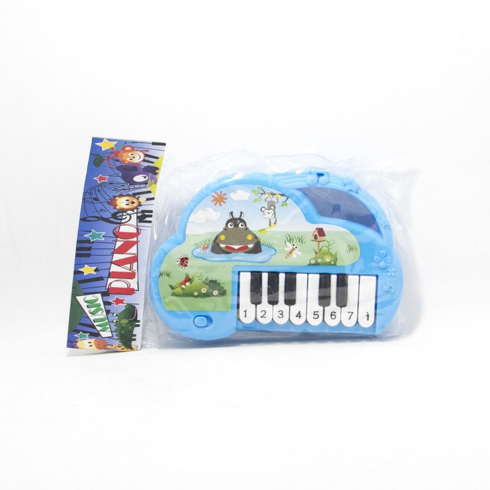 Piano musical animado E/Bolsa
