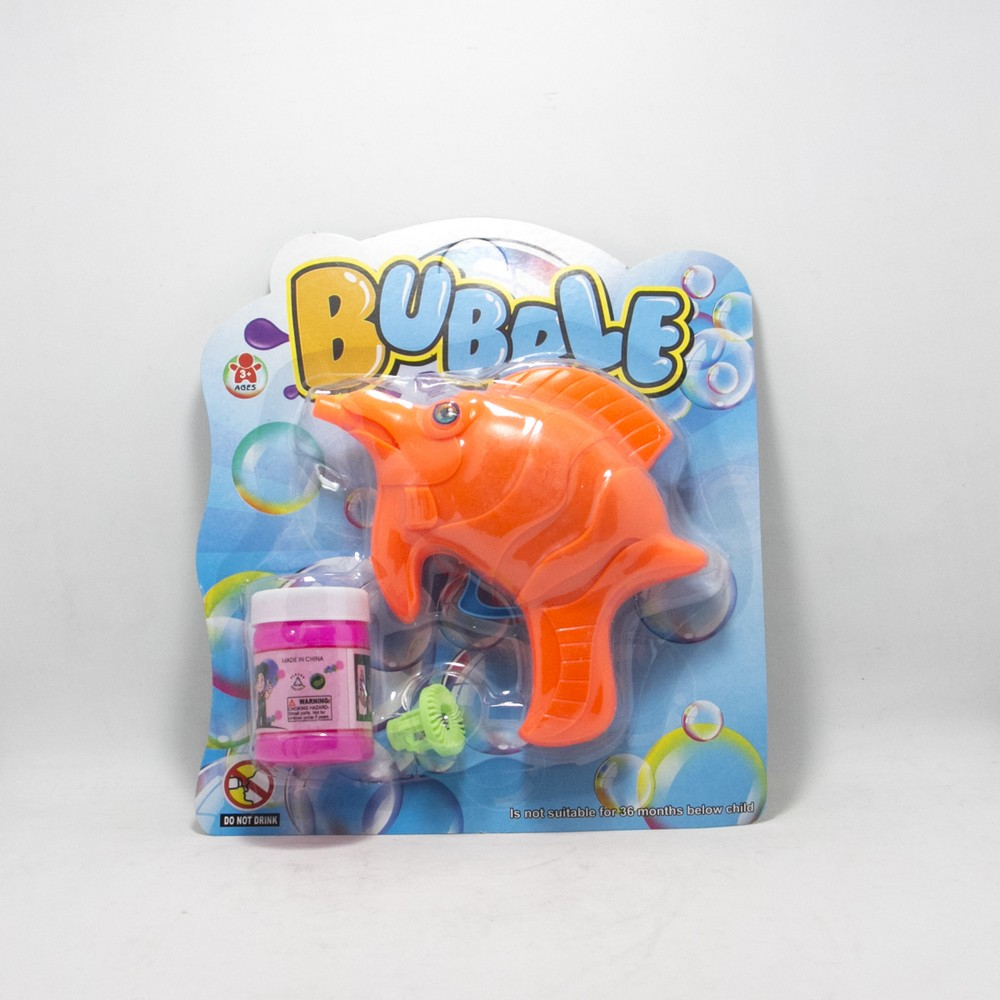 Pistola lanza burbujas E/Blister