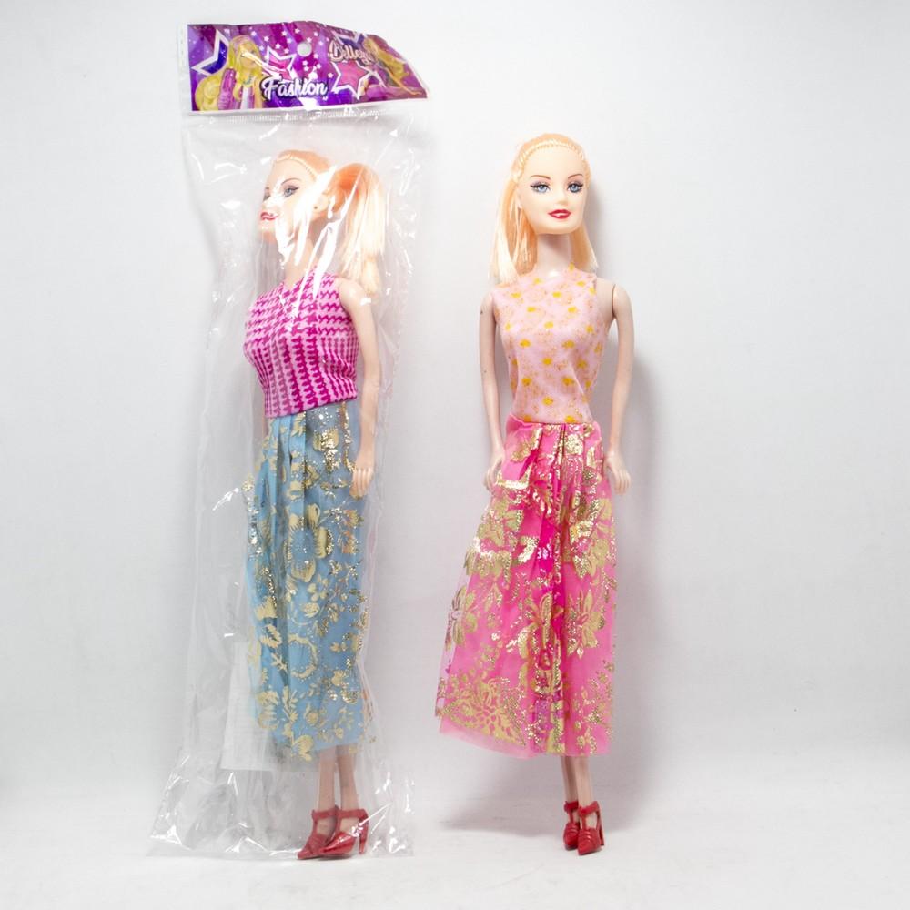 Muñeca flaca goma T/Barbie Bolsa