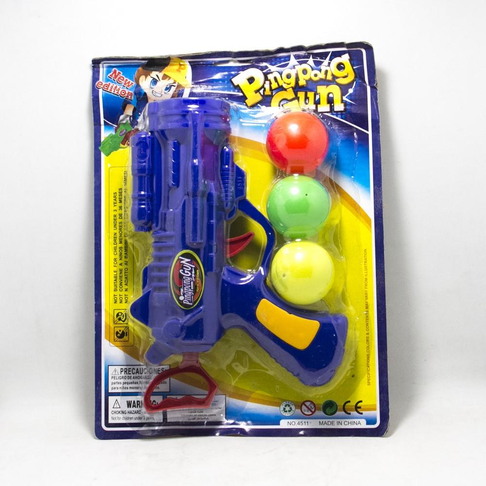 Pistola lanza bolas Grande Blister