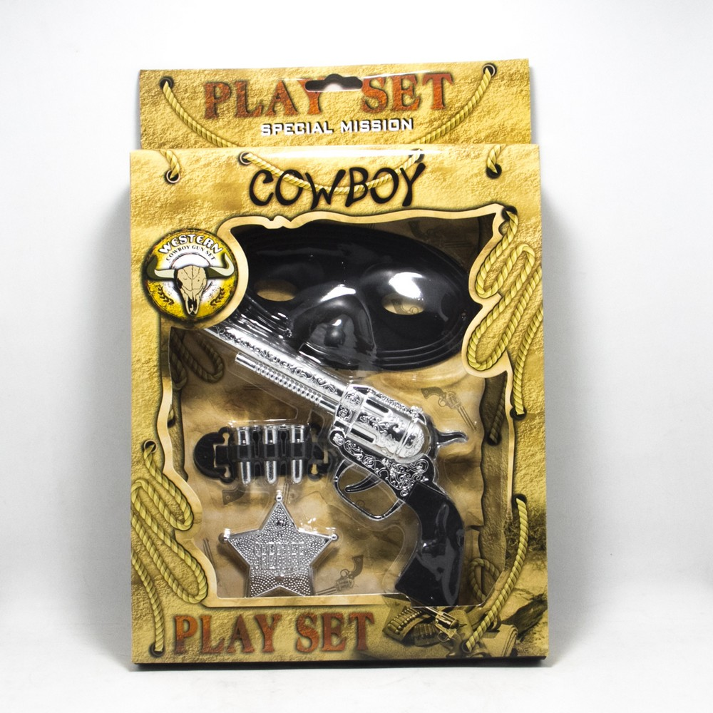 Set cowboy E/Caja