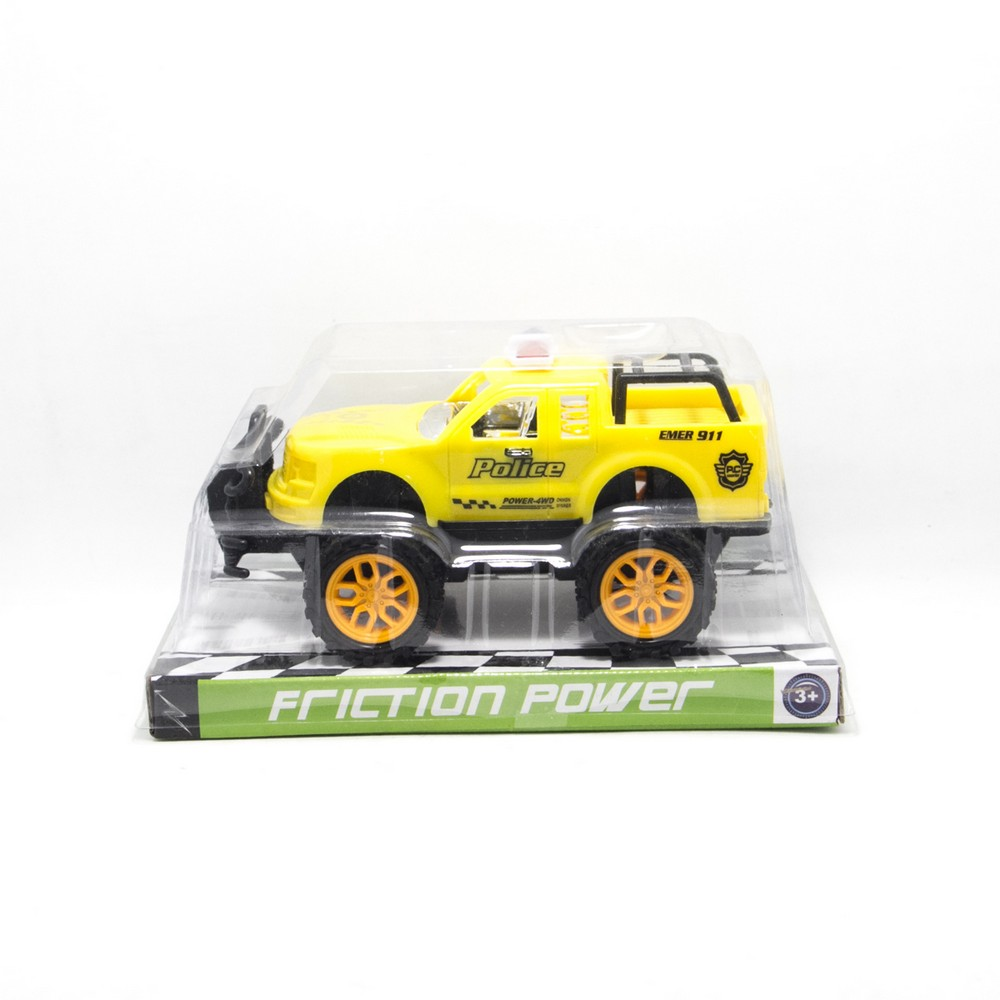 Jeep policia E/Burbuja Mediano