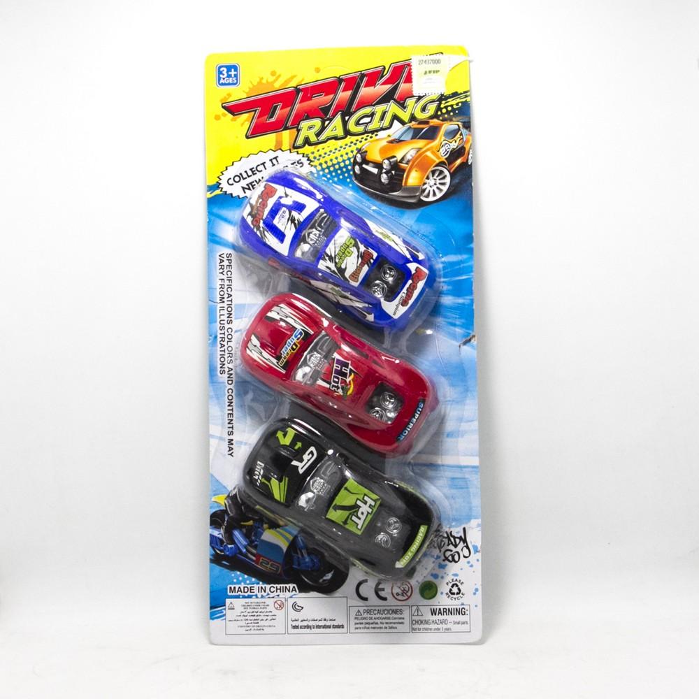 Autos Carrera x3.U Fricc E/Blister