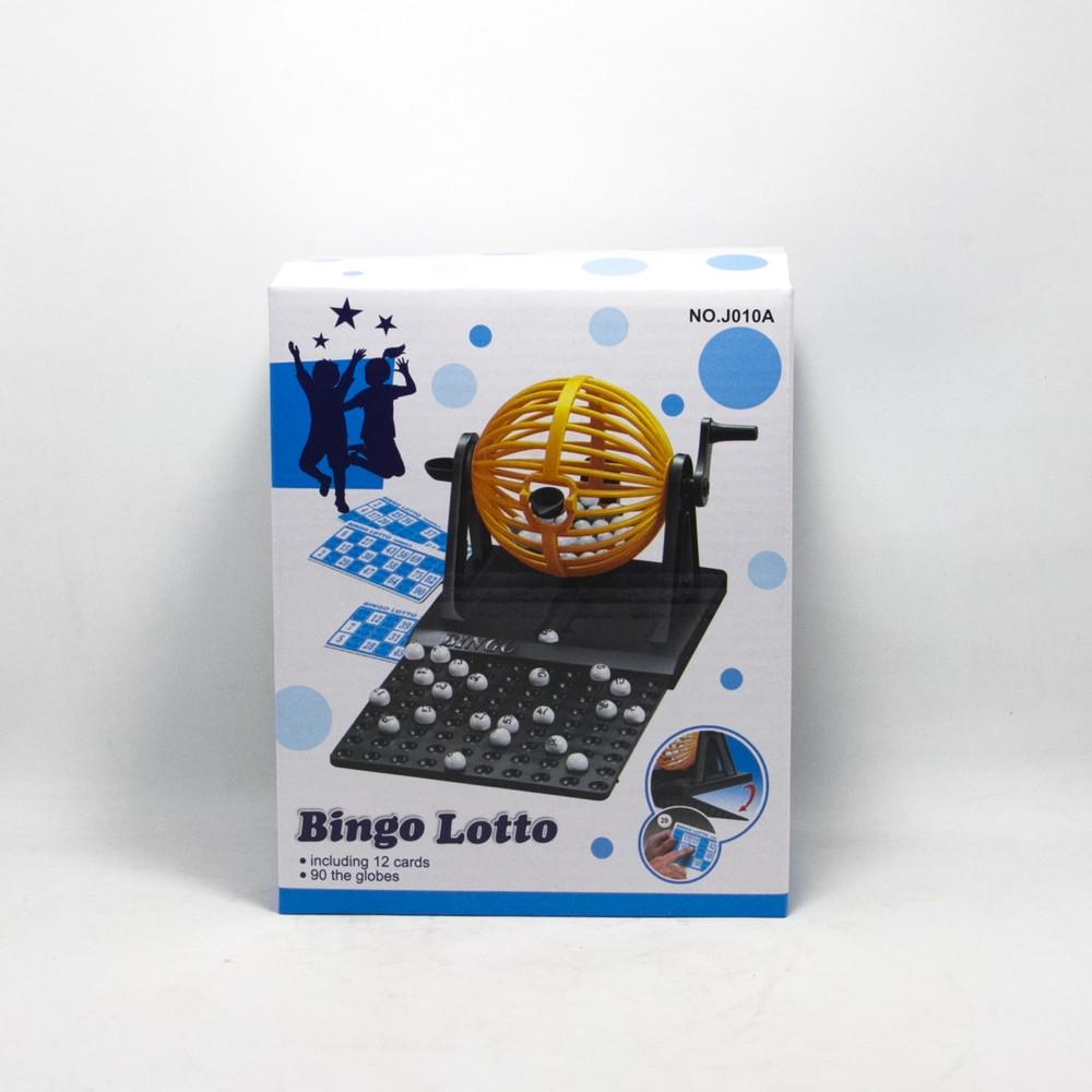 Juego Bingo C/Bolillero E/Caja