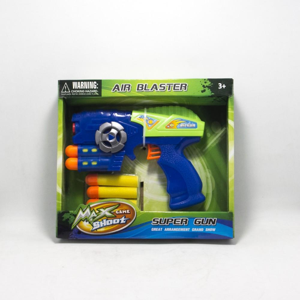 Pistola lanza dardos en Caja