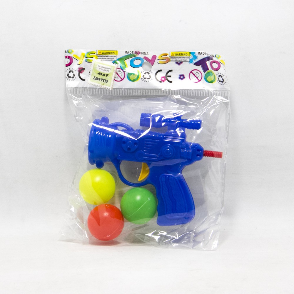 Pistola lanza bola e/bolsa