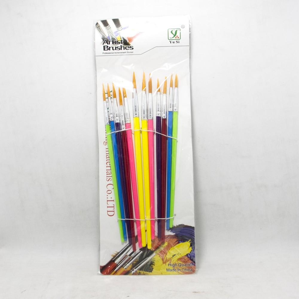 Pinceles x12u colorpen
