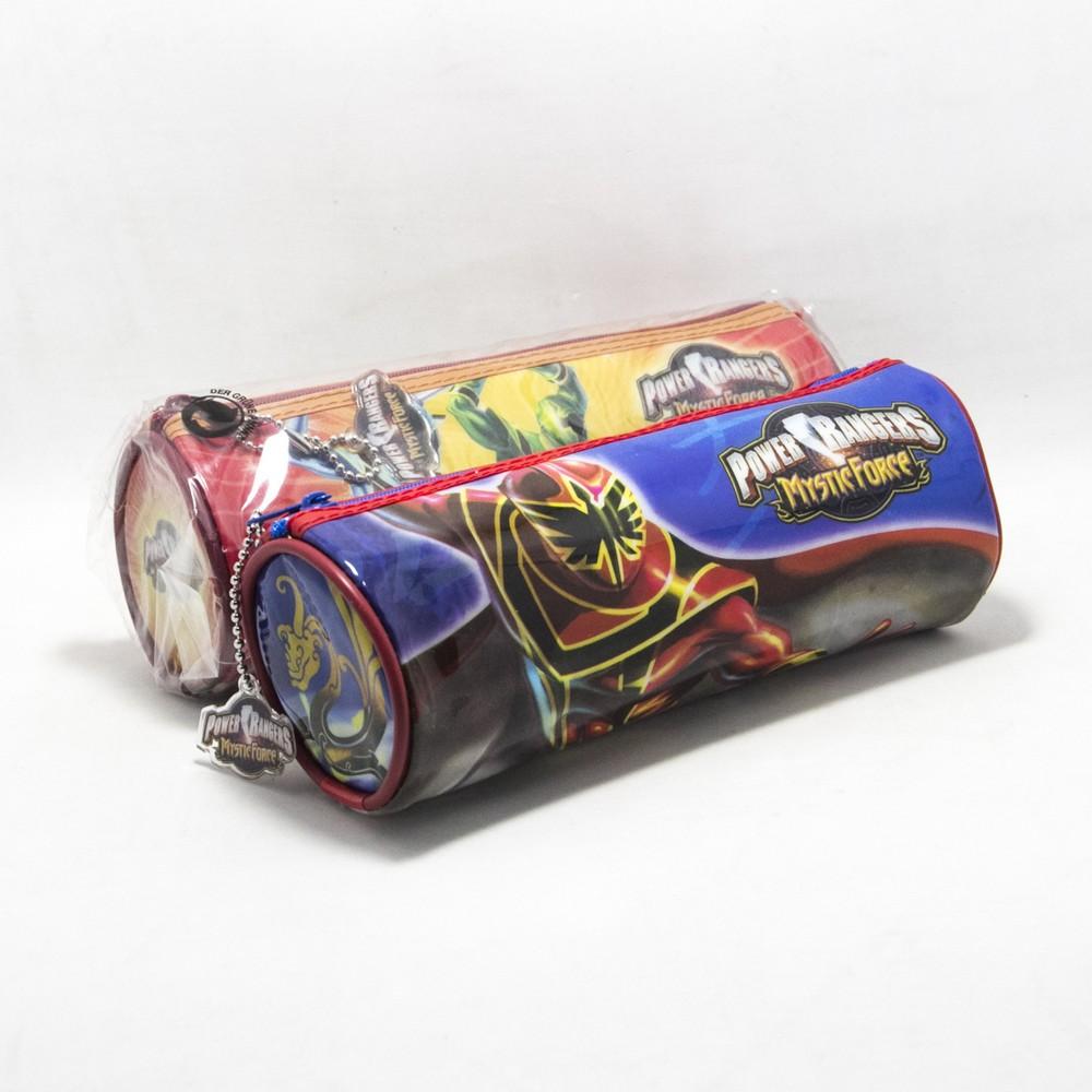 Cartuchera tubo powers rangers e/bolsa