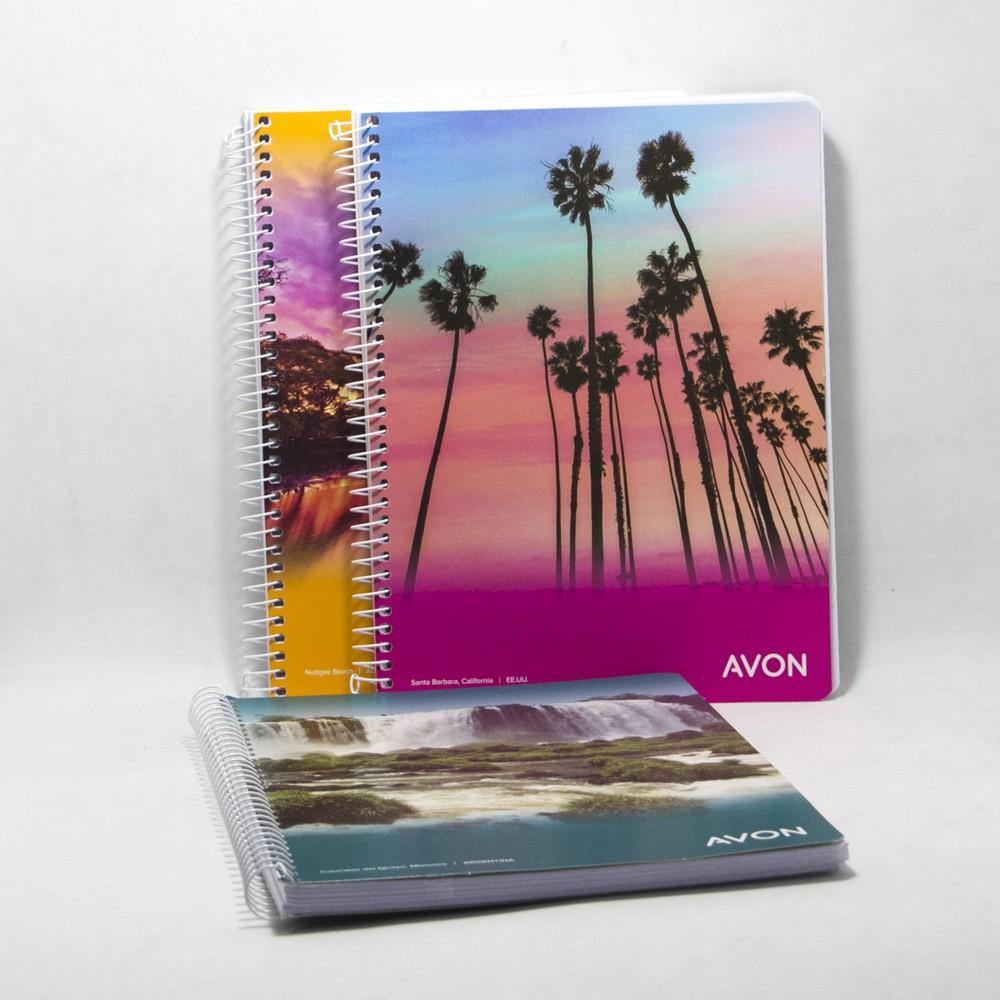 Cuaderno c/espiral N3 Avon X80HJS Rayado
