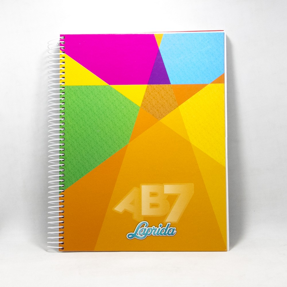 Cuaderno AB7 X100HJS espiral