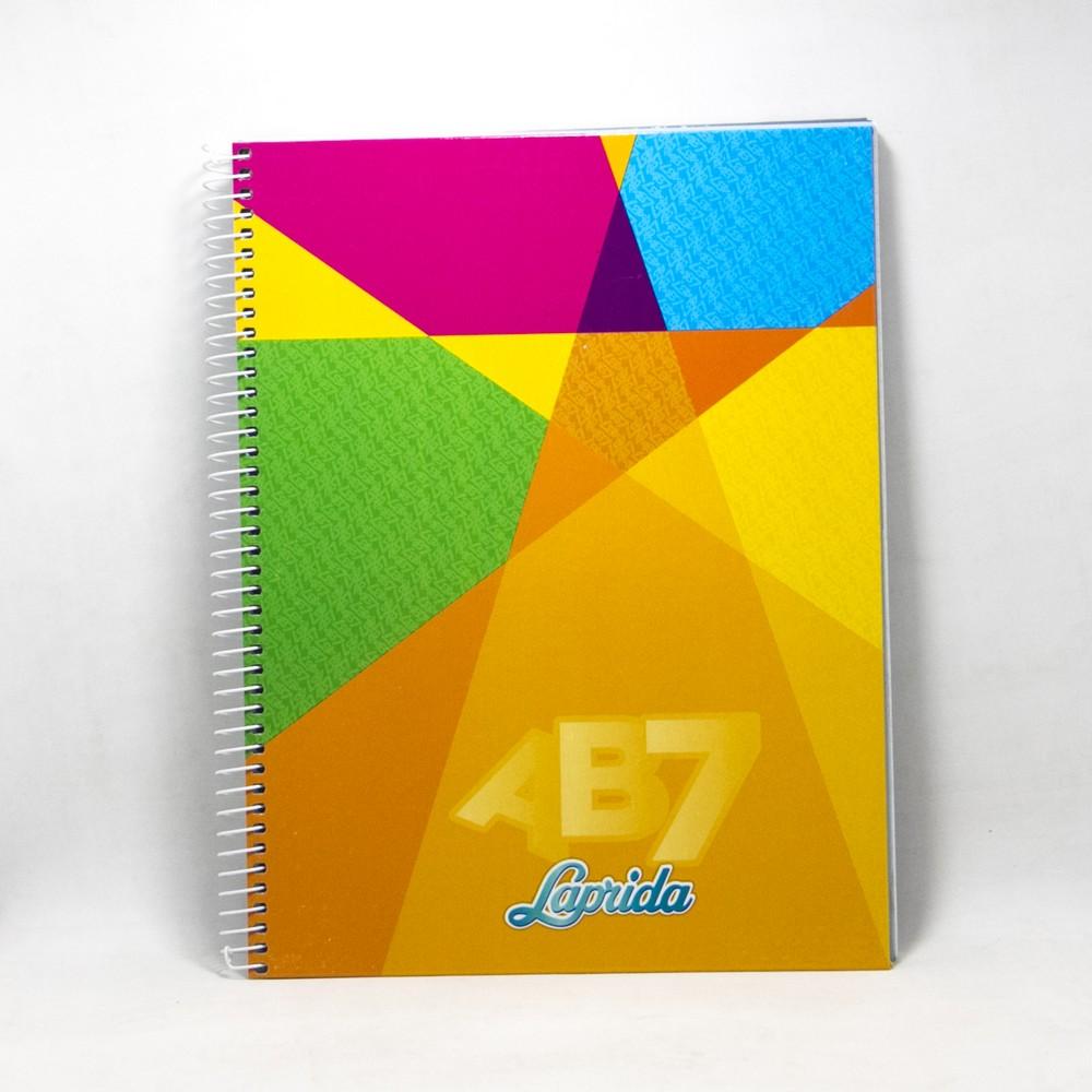 Cuaderno AB7 X60HJS Laprida espiral