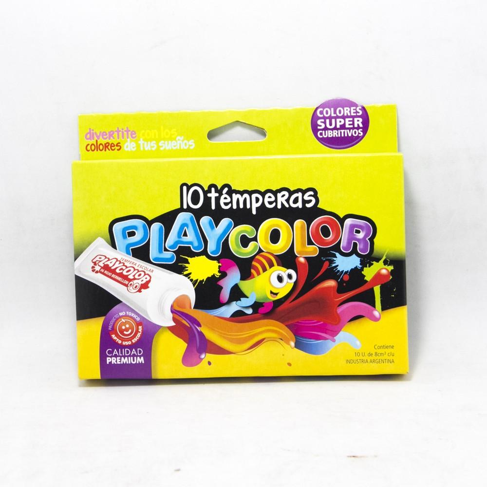 Tempera x10 colores surtidos
