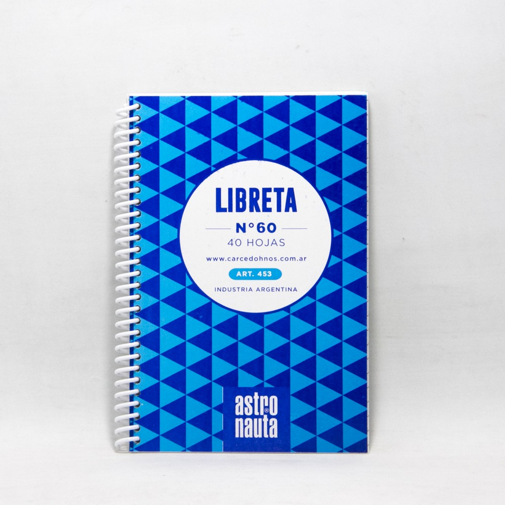 Libreta c/espiral 40HJS N60