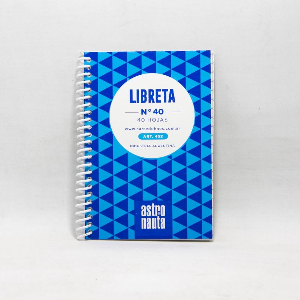 Libreta  c/espiral 40HJS N40
