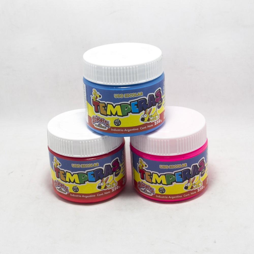 Playcolor tempera pote 250 gramos