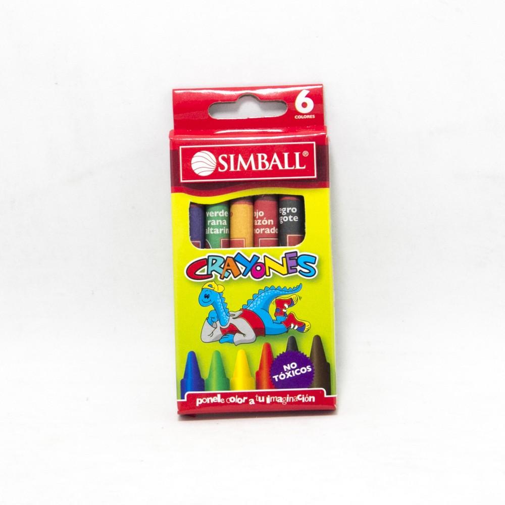Crayon cera x6 micro
