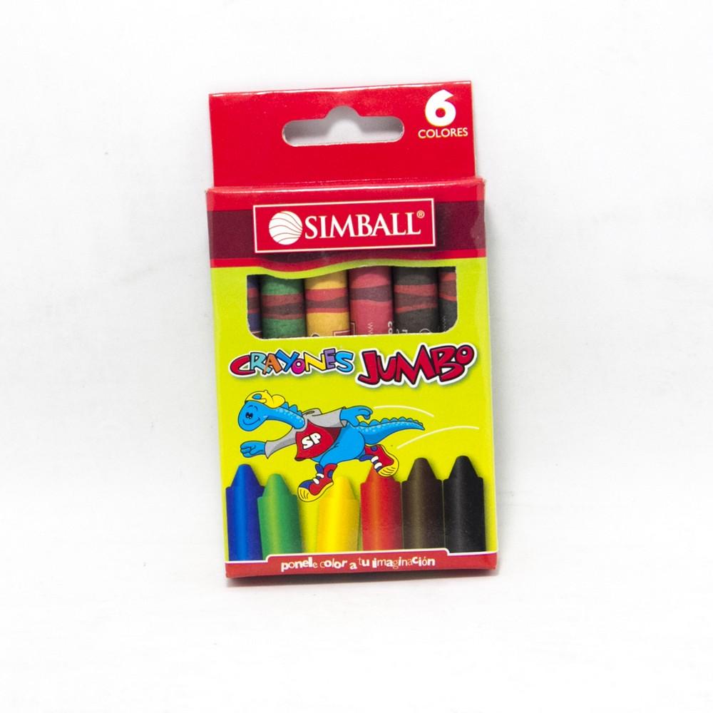 Crayon jumbo x6 micro