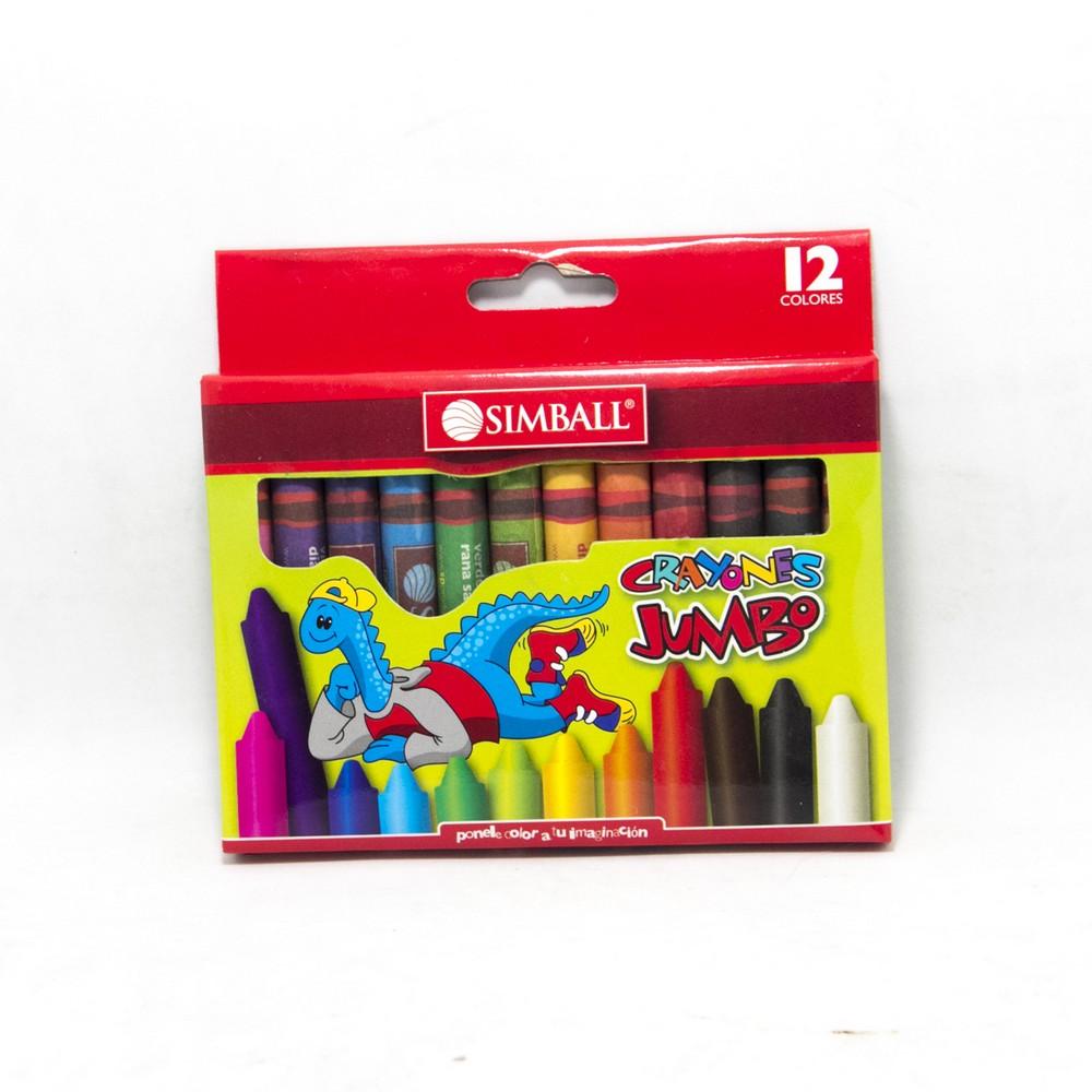 Crayon  jumbo x12 micro