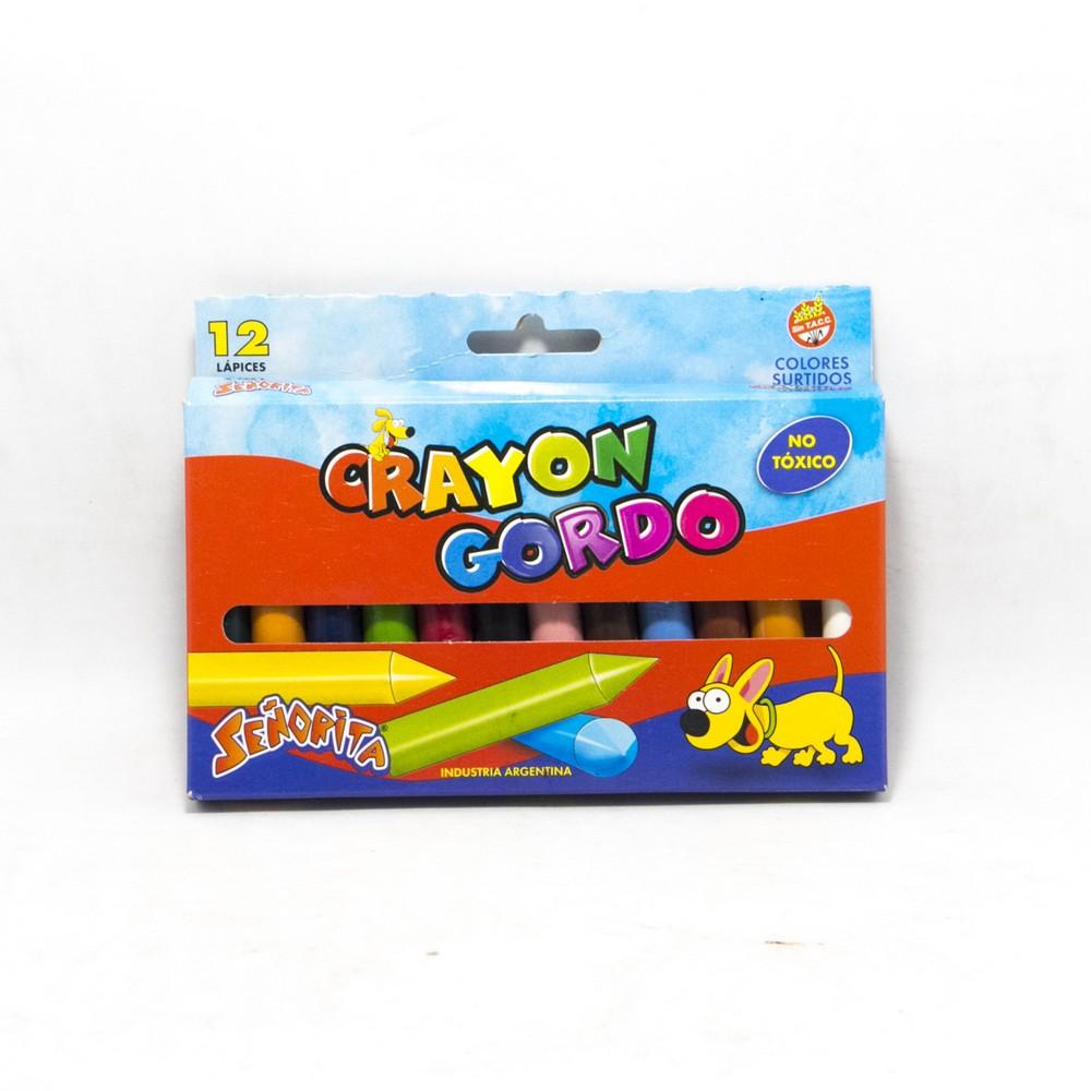 Crayon gordox12 Señorita