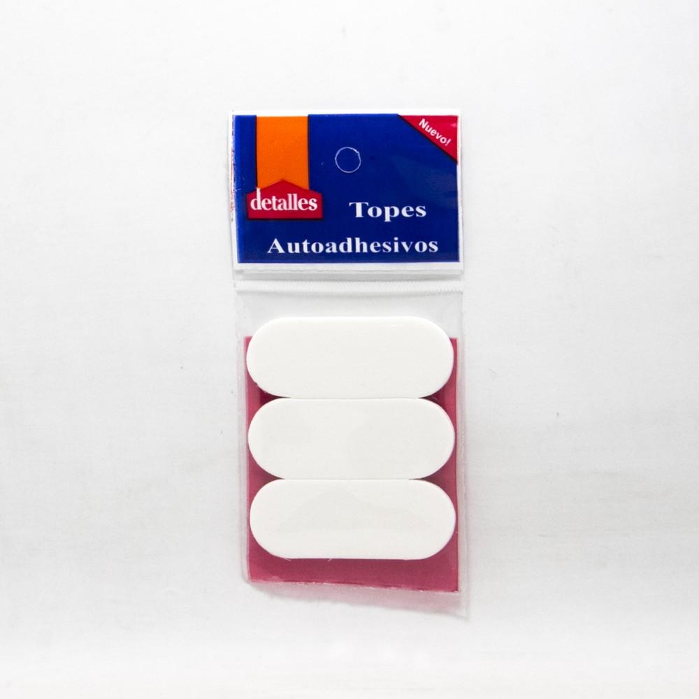 Topes X3 rectangular autoadeshiva